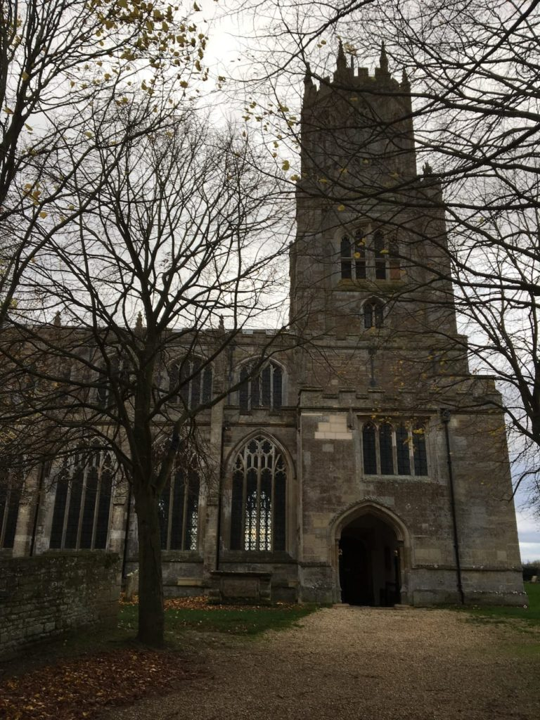 Fortheringhay Church Exterior