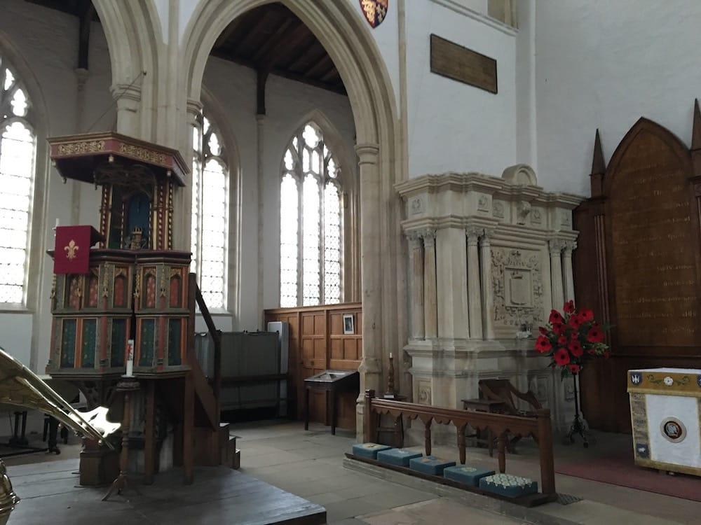 Fotheringhay Church Interior