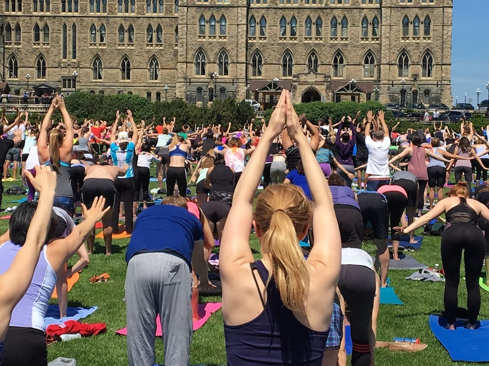 Yoga on the The Hill