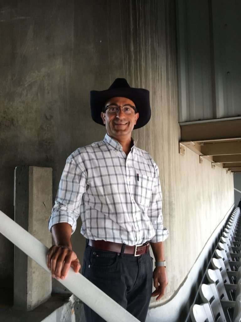 MLH in cowboy hat