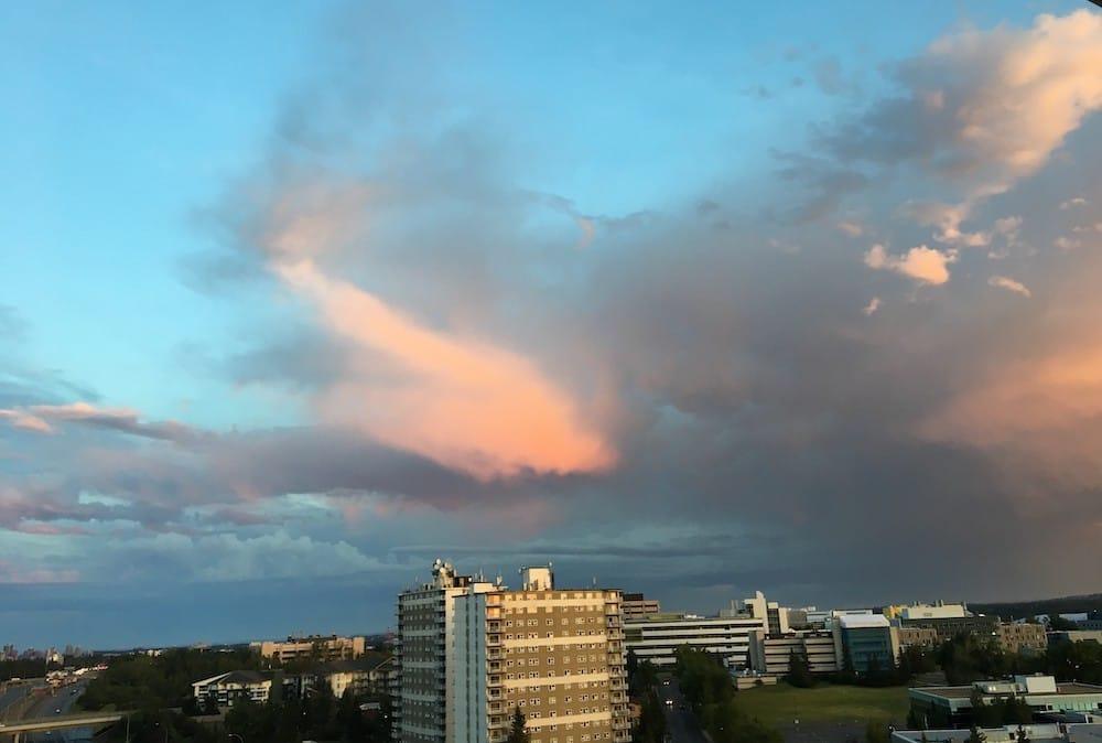 Sky over Calgary