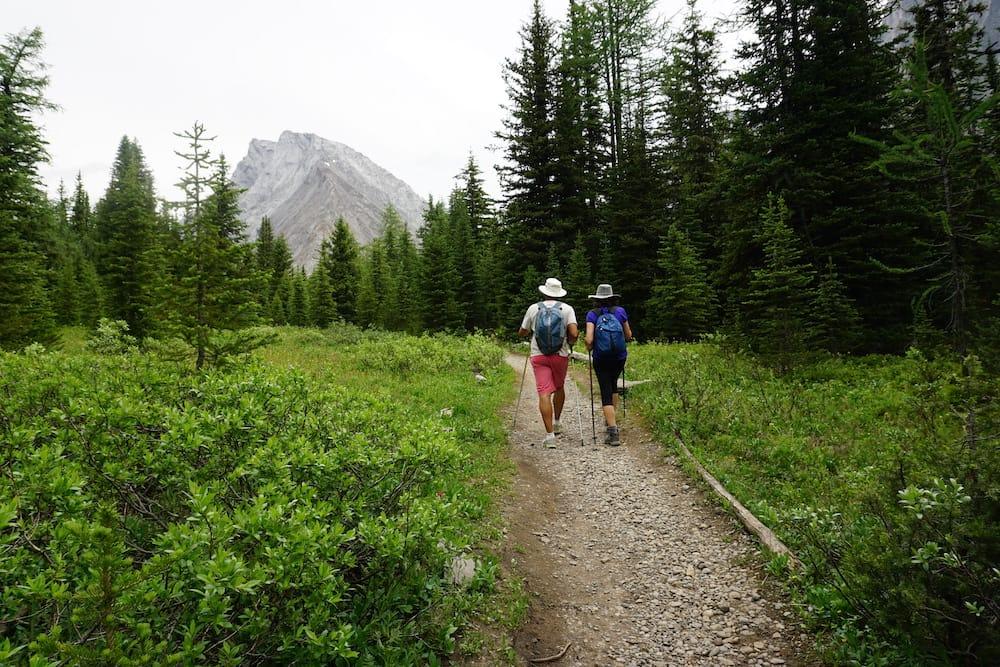 Hiking in the Rockies
