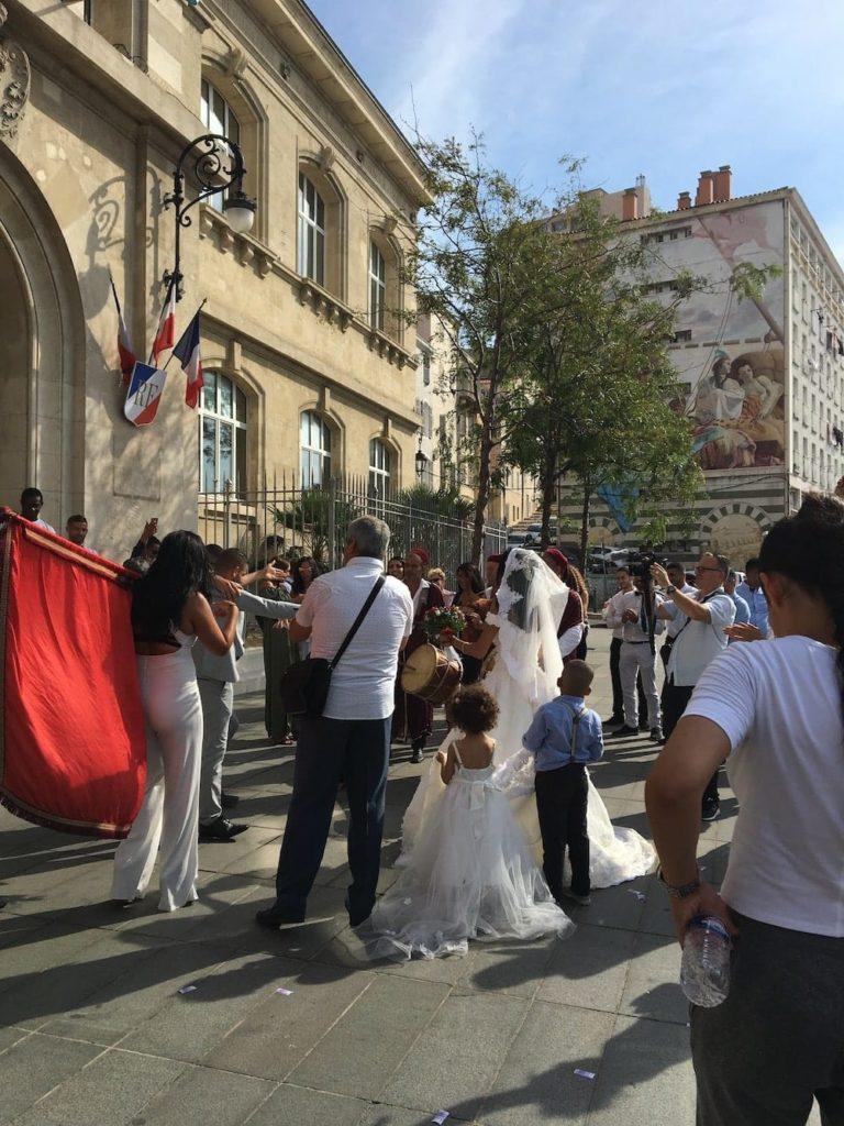 Marseille wedding