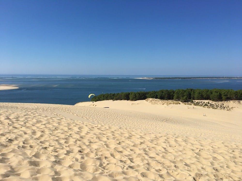 View from Dune de Pilat, Arachon