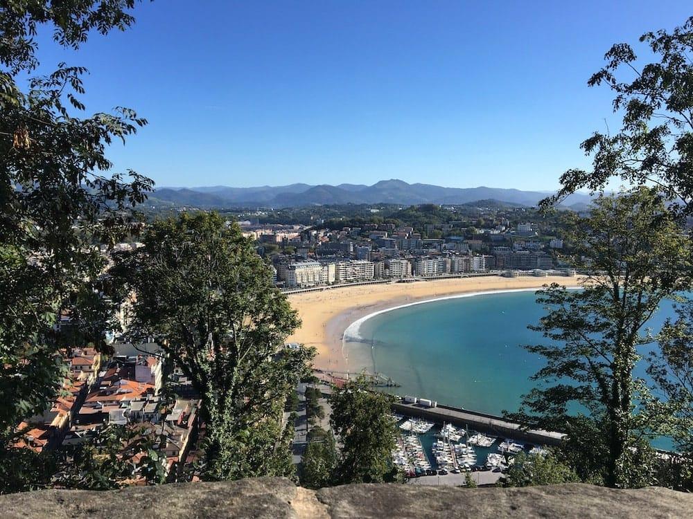 La Concha beach San Sebastian
