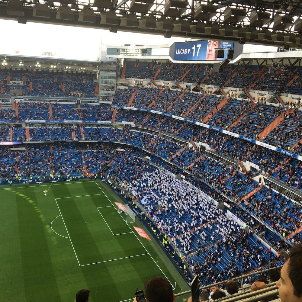 Real Madrid play Levante