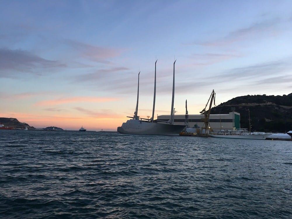 Cartagena boat