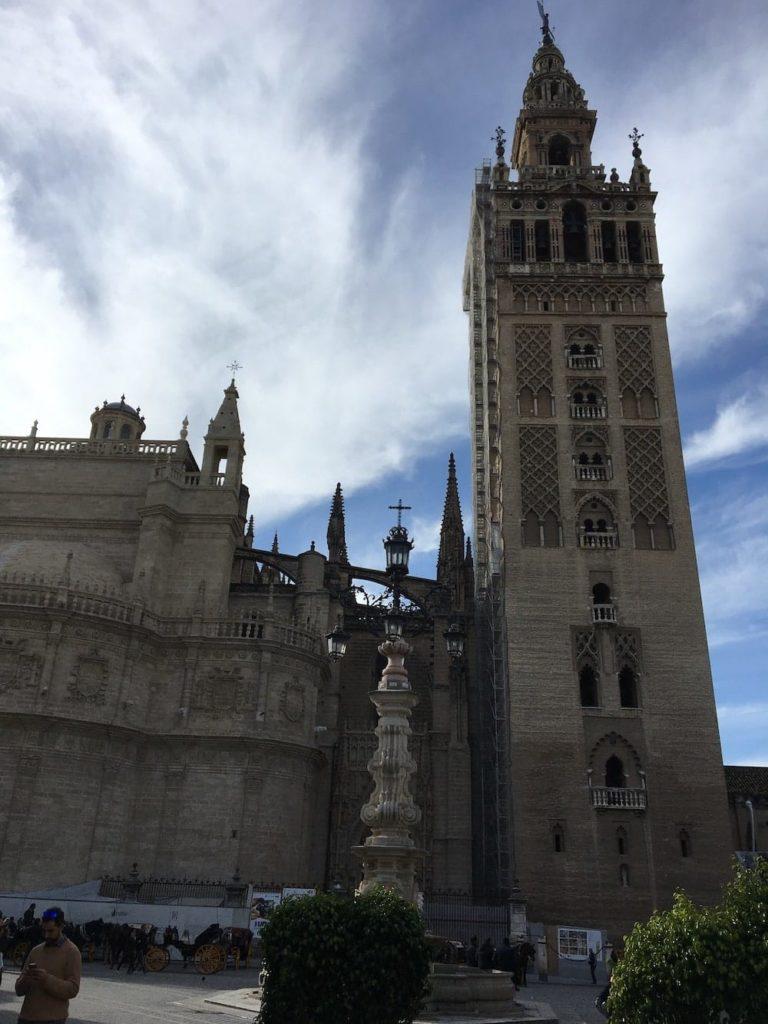 Seville Cathedral and La Grimalda
