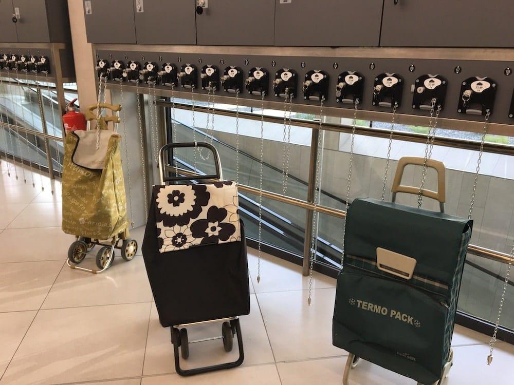 Shopping cart corral