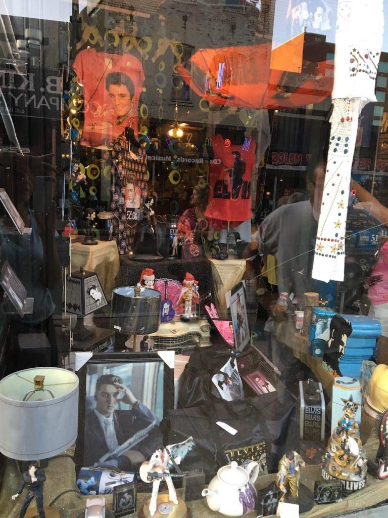 Elvis memorabilia Memphis Tennessee