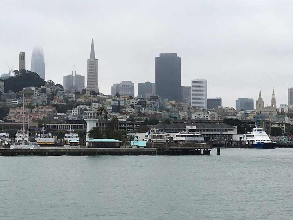 San Francisco from the water