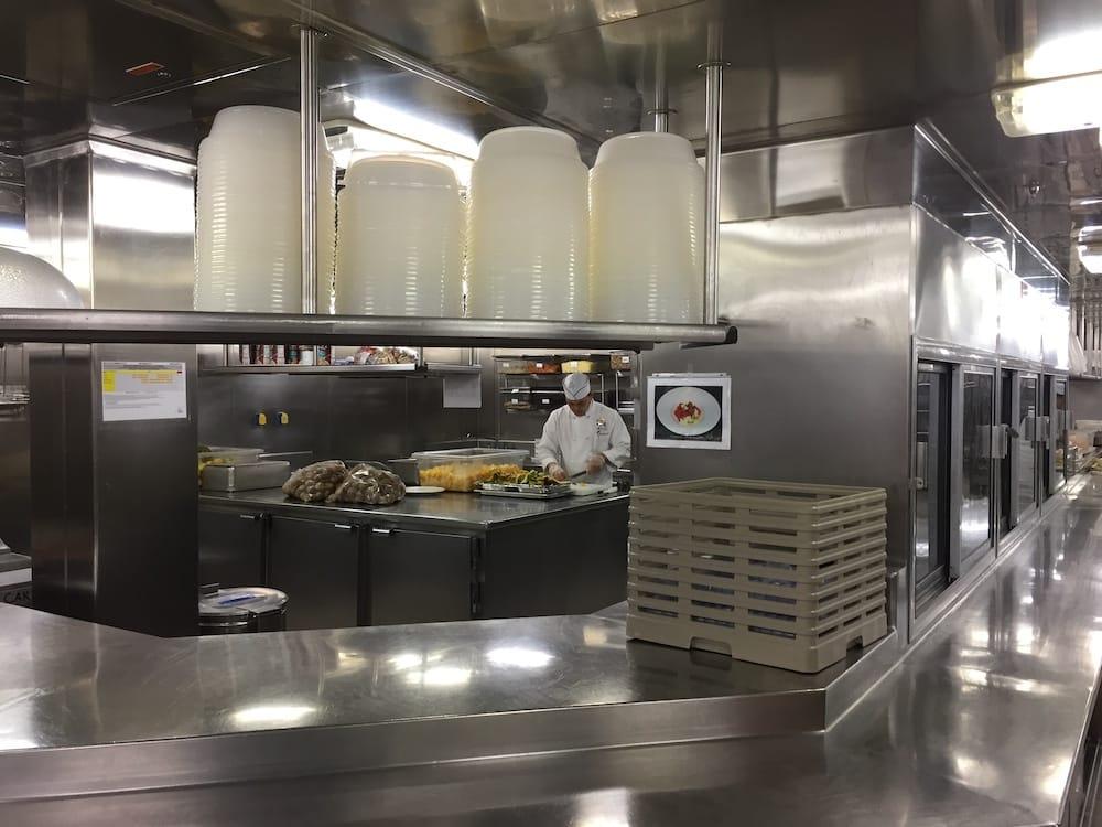 Ships kitchen