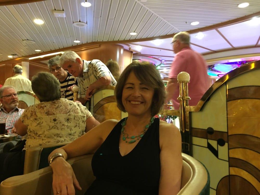 Elizabeth on cruise