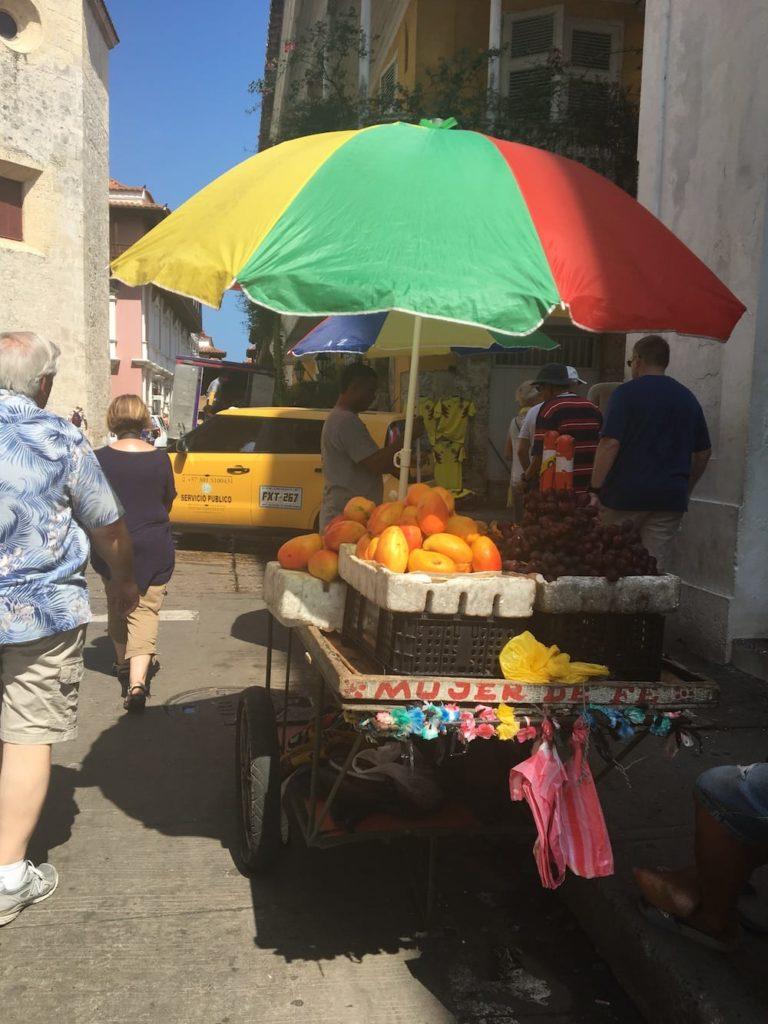 Cartagena street vendor